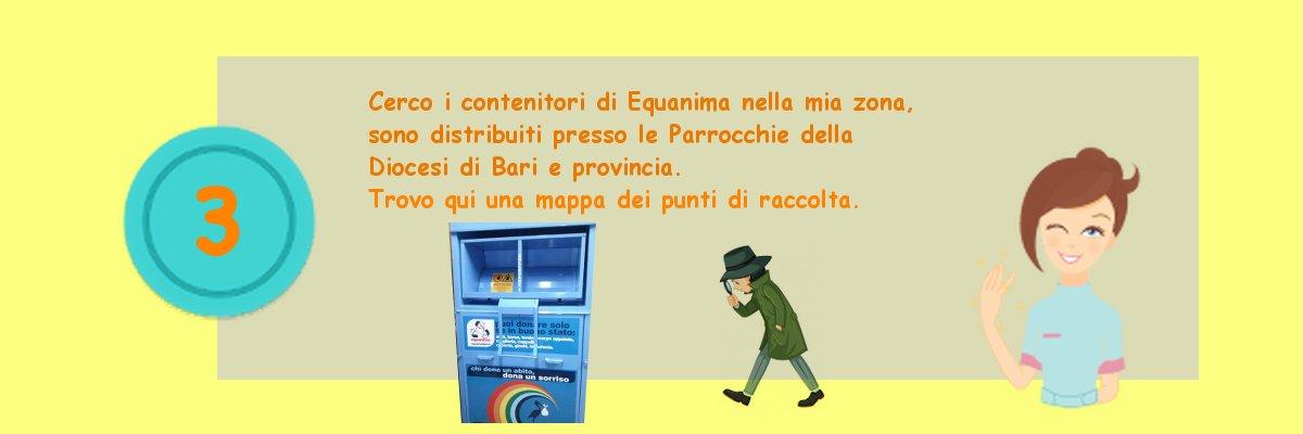 Abbigliamento Bari Equanima Banco Solidale Equanima yvbfgY76